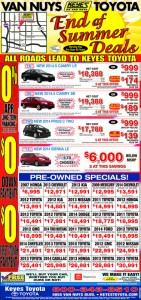 Toyota Van Nuys DEALS