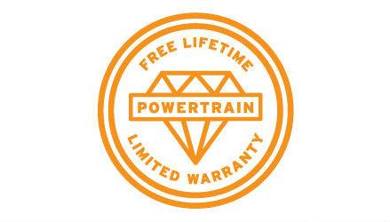 Free Lifetime Powertrain Warrantly