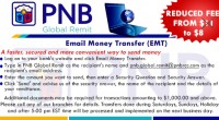 Email Money Transfer, Now $8!